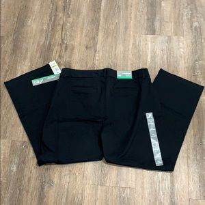 JM Collection Slimming Trousers -Sz 14 short-NWT